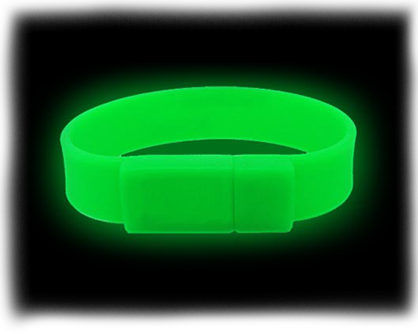 Glow USB Wristbands